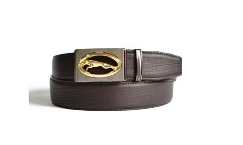 Full Grain Leather with Hollow Automatic Buckle