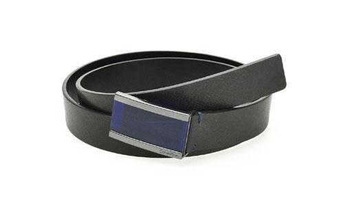 Man Business Belt with Resin Pacifier Buckle