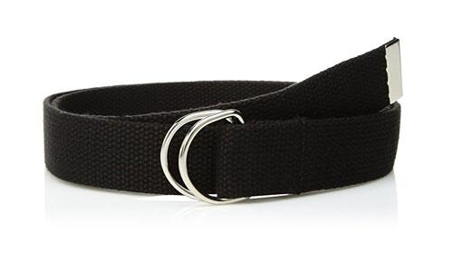 2D Rings Polyester Webbing Belt