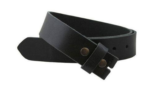 Split Leather Snap on Belt Strap