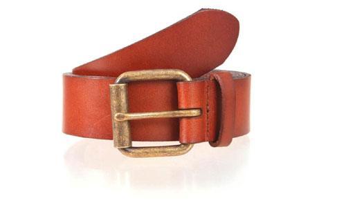 Tan Leather Belt for Men